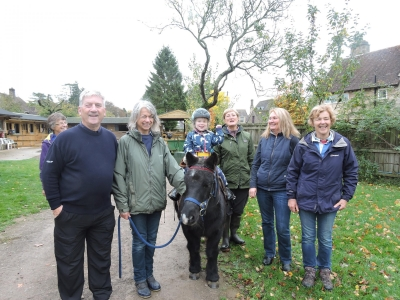 Disabled riders benefit from Oaksey Park Captains Day