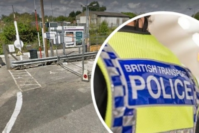 Arrest after reports of man waving knife and making threats at Wiltshire railway station
