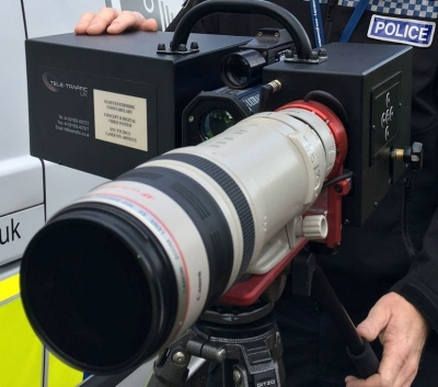 New speed camera can catch drivers a kilometre away