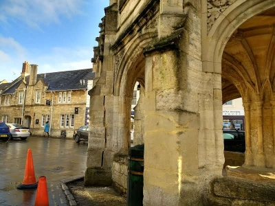 Malmesbury's historic Market Cross damaged by lorry
