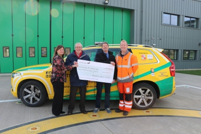 Generous fundraisers in Malmesbury help out with WAA's unexpected bill
