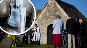300-year-old bell stolen from Britain's smallest church in Wiltshire