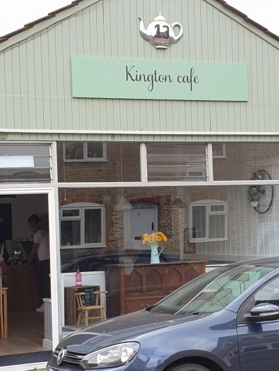 Kington St Michael Cafe is brewing up again