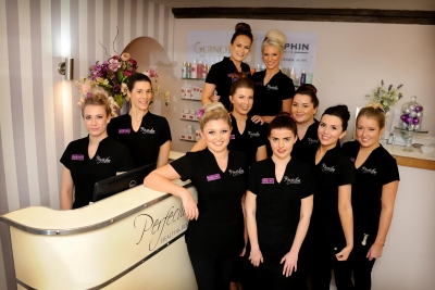 Beauty salon raises hundreds for charity