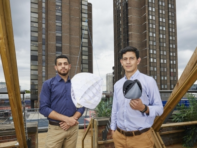 Design for new urban wind turbine wins this year's James Dyson Award