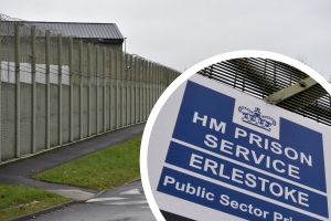 Increase in drugs found by staff at Erlestoke prison