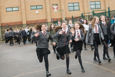 Malmesbury School pupils support Sports Relief