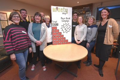 Lottery grant launches fund-raising campaign for new shop in Minety