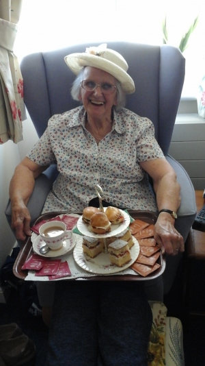 Care home residents enjoy something special across Wiltshire