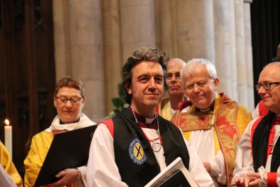 Wiltshire has a new bishop as the new Bishop of Ramsbury is ordained (the title dates back to the year 909)